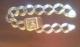 Pulseira e anel do São Jorge