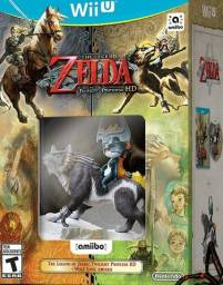 Kit jogo The Legend Of Zelda Twilight Princess HD + Amiibo Wolf Link