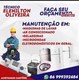 Técnico em Refrigeração / Máquinas de Lavar