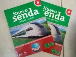 Livro de espanhol Nuevo Senda 4