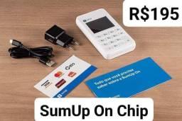Maquineta SumUp On Chip Não precisa de celula