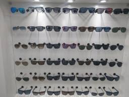 Vendo um lote de óculos de sol e armações