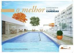Ecovila Praia,2 Qtos/1 suit, 50m²,MCMV em candeias, facilitado, doc grátis