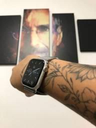 Perfeito Estado Watch Series 5 44mm Silver - Aceito o seu na troca !