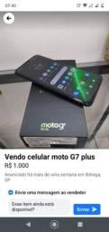 Moto G7 plus índigo