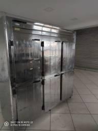 Refrigerador Comercial 6 Portas Conservex, não tem motor