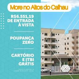 72* Apartamento de 03 quartos no Altos do Calhau