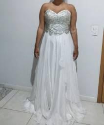 Vestido de Noiva Pedraria