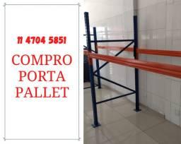 Título do anúncio: Compro porta palete, pallet, pallets, palets