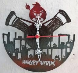 Relógio De Parede angry birds