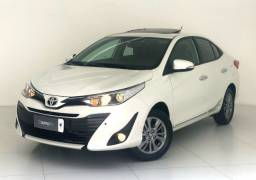 Yaris Sedan XLS 1.5 Aut./ 2019 (Com teto solar elétrico)