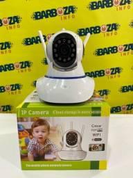 Título do anúncio: Câmera Robozinho Wifi Ip Hd Visão Noturna Baba Eletrônica