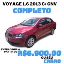 Voyage 1.6 2013 com gnv 1 ano de garantia