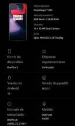 Smartphone Oneplus 6 128gb/8gb - Usado c/ pelicula e capinha