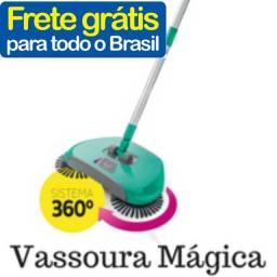 Vassoura mágica ótima para limpeza do seu lar