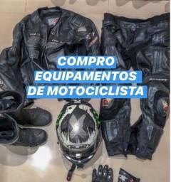 Título do anúncio: Equipamentos de Motociclista