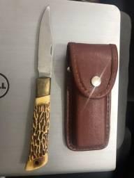 Faca Canivete Tramontina com capa