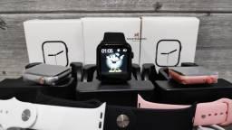 Sucesso em vendas! Smartwatch Iwo Max 2.0! Diversas cores! Faça e receba chamadas!