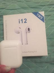 Fone Bluetooth I12 Tws Branco