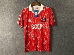 Camisa União Soviética Rússia Retrô Rússia EUA Urss