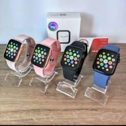 Relógio Smartwatch IWO X8 /Coloca foto na tela/Faz ligações