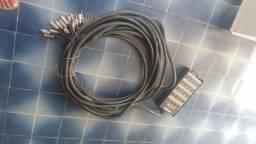 Medusa 20 canais Wireconex Med 20 xrl