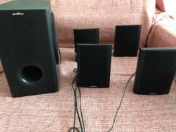 Woofer 5 caixas para televisão e som