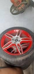 Rodas  de carro aro  17 semi nova