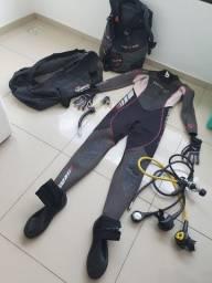 Equipamento regulador de mergulho