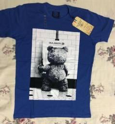 Kit 3 camisas  p m gg