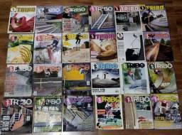 Lote De Revistas: Tribo Skate // 100% Skate (+guia De Pista)