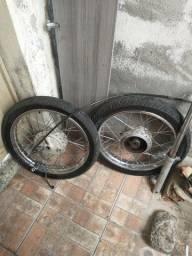 Rodas de start com sistema de freio