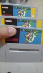 Cartucho Super Mario World em português Super Nintendo comprar usado  Rio Claro