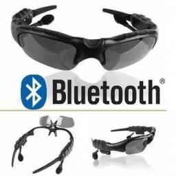 Óculos de Sol Inteligente com Bluetooth e Fone de Ouvido Ajustáve