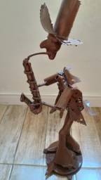 Barbada decoração flautista