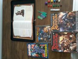 Kit inicial completo D&D - barbada