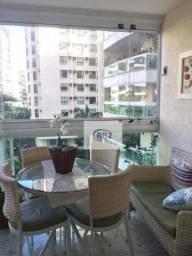 Apartamento com 3 dormitórios à venda, 117 m² por r$ 1.000.000 - icaraí - niterói/rj
