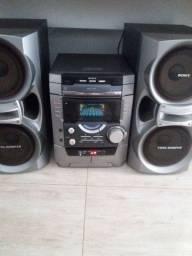 Aparelho de som sony ,via bluetooth,radio,mp3,aux,som de casa super potente
