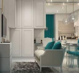 _*Cld Apartamentos no Centro de Curitiba, 1, 2 Quartos e Estúdios