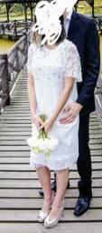Lindo vestido pré wedding/ casamento civil