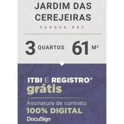 Título do anúncio: Novo com itbi e registro Grátis só cerejeiras