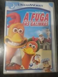 DVD A Fuga das Galinhas - R$ 10