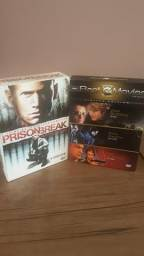 Box DVD Prision Break 1ª Temporada e Box Best Movies