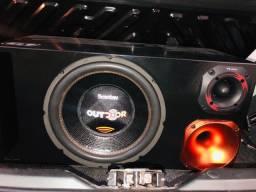 Vendo NOVOS! Caixa Trio + 2 amplificadores