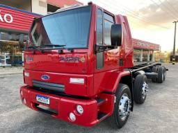 Ford cargo 2428 ano 2011 bitruck/semi leito/ar condicionado