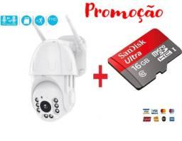 Kit Câmera IP + Cartão Gravação, Segurança Ip Externa Wifi, Prova D'água, Wi-fi