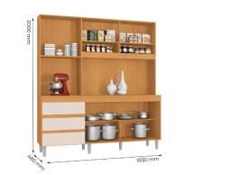 Kit Cozinha Florença - Armário para Cozinha - Novo - Pronta Entrega