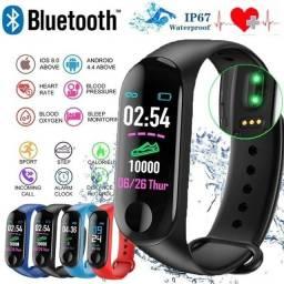 SmartBand M3 - Relógio Inteligente - Promoção