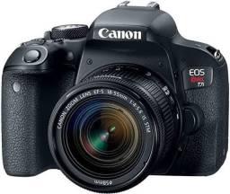Câmera cânon t7i