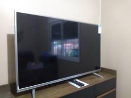 TV Smart 49pol 4K Semp praticamente nova netflix globoplay